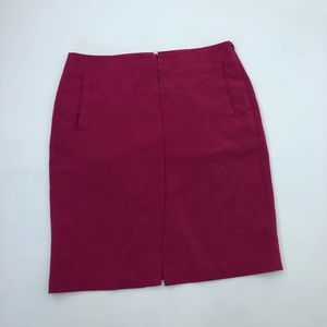Banana Republic fuchsia Skirt Size 12